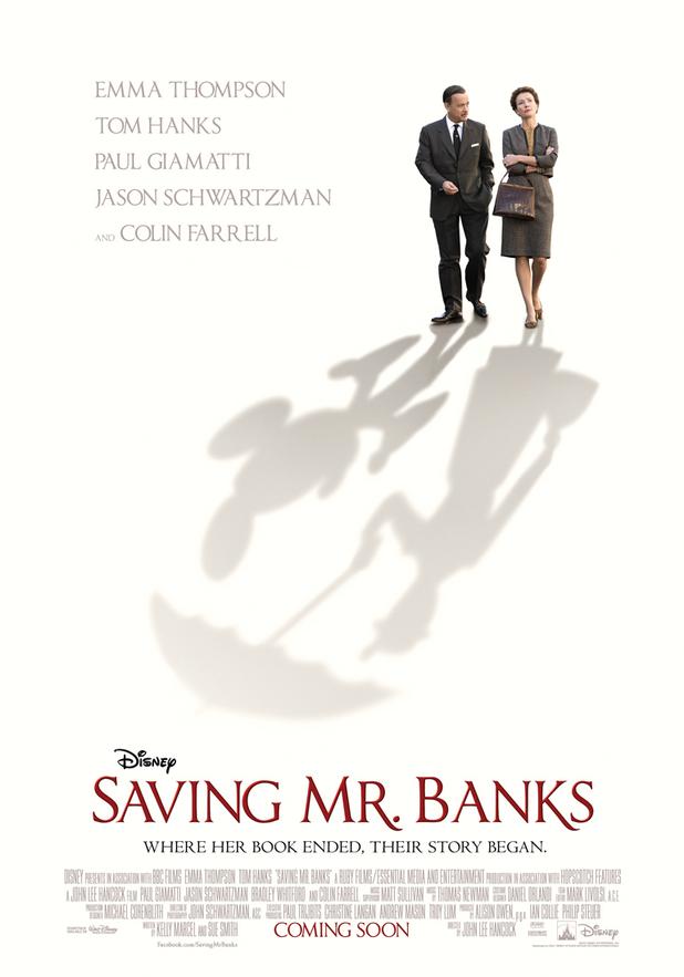 """Emma Thompson har sat sig godt til rette i denne herlige komedie om tilblivelsen af filmen """"Mary Poppins""""."""